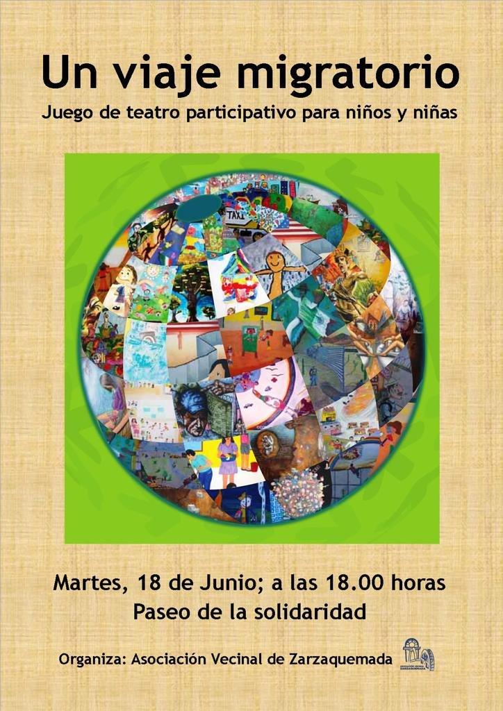 Teatro participativo para niñas y niños