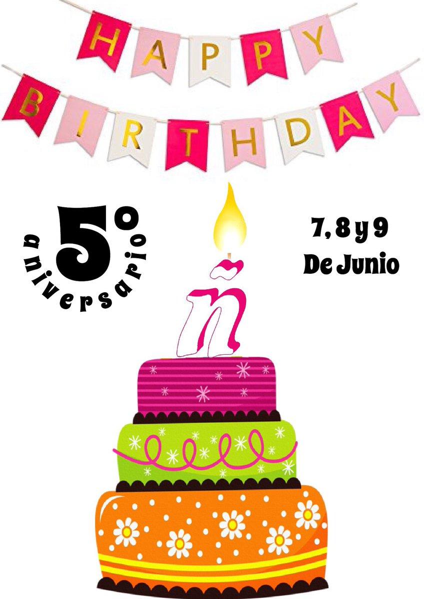 V aniversario de la Eñe de Leganés