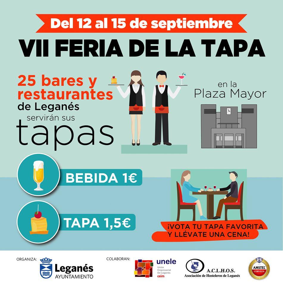 VII Feria De La Tapa Leganés 2019