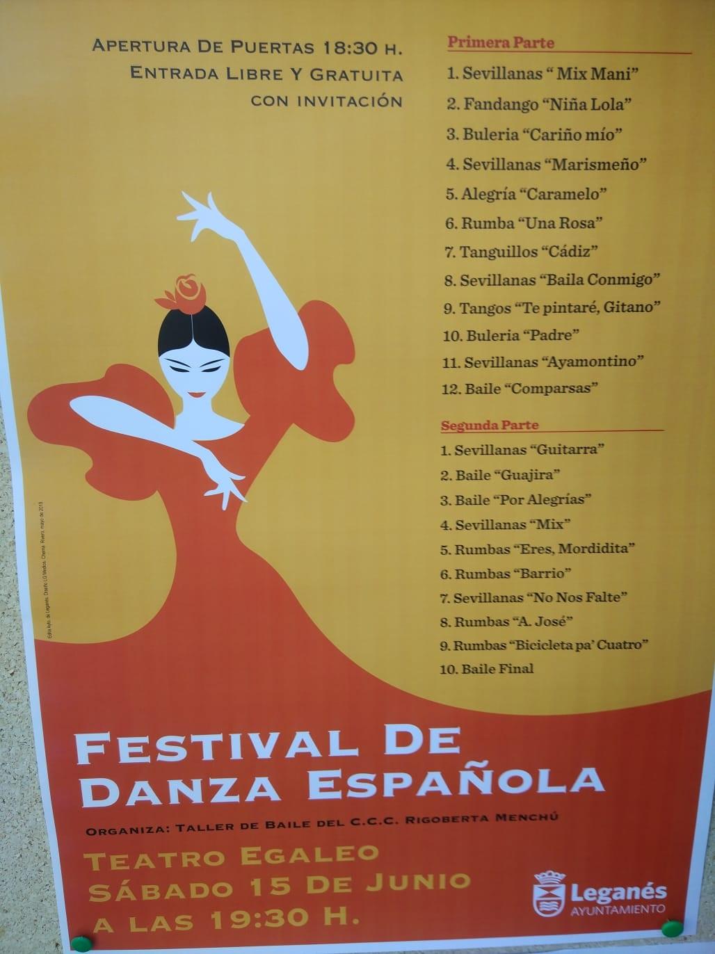 Festival de danza española