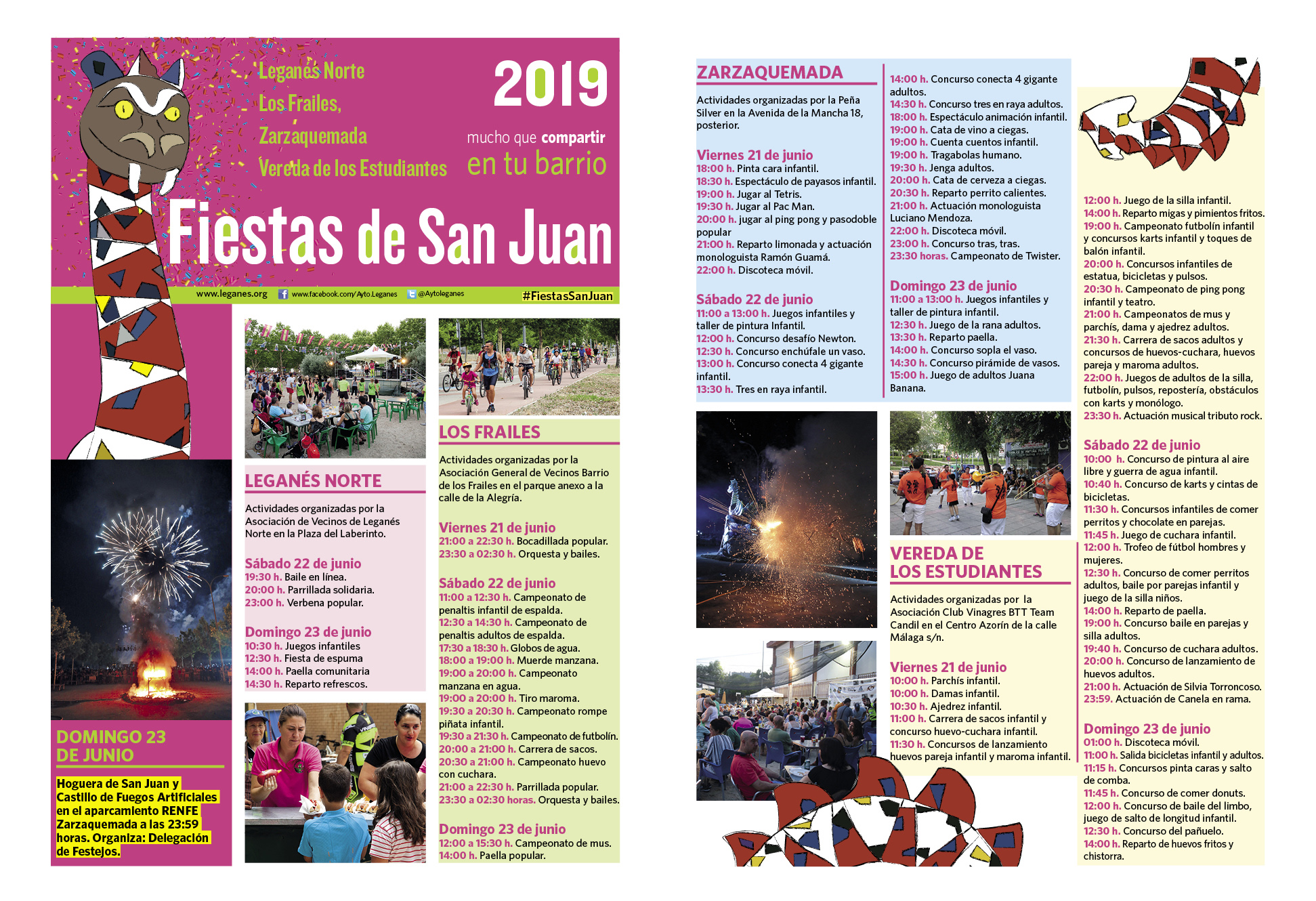 Fiestas de San Juan Leganés