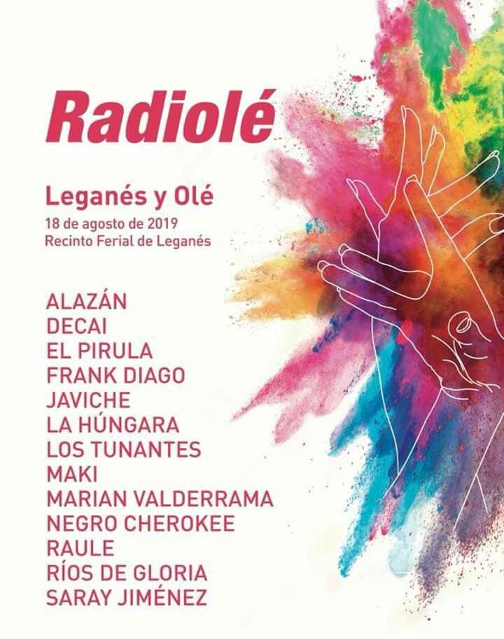 En el Recinto Ferial de LeganésFestival Radiolé.