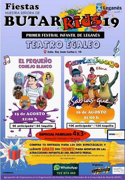 Festival Infantil de Leganés Butarkids