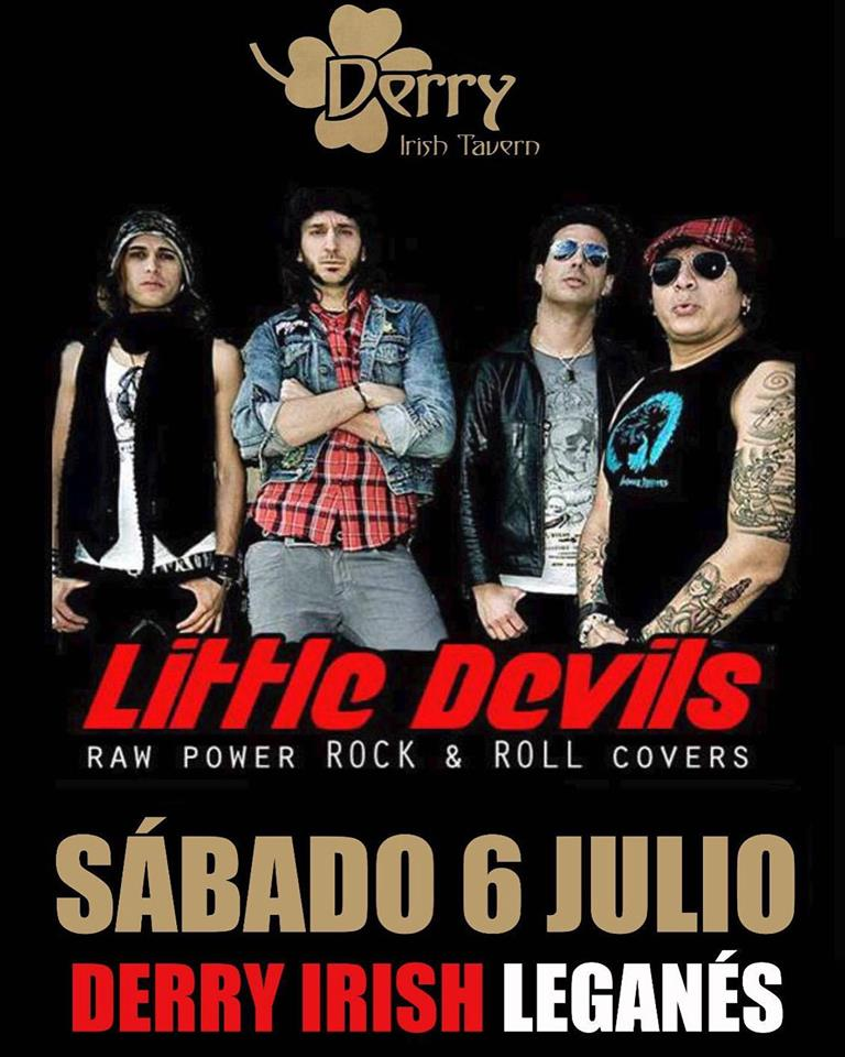 Little Devils Programación Derry julio 2019