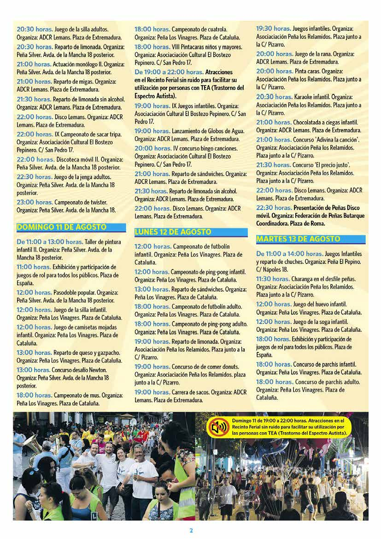 Programa fiestas de leganés 2019 Página2
