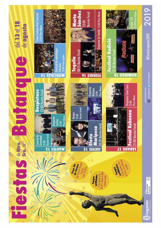 Programa fiestas de leganés 2019 Página7