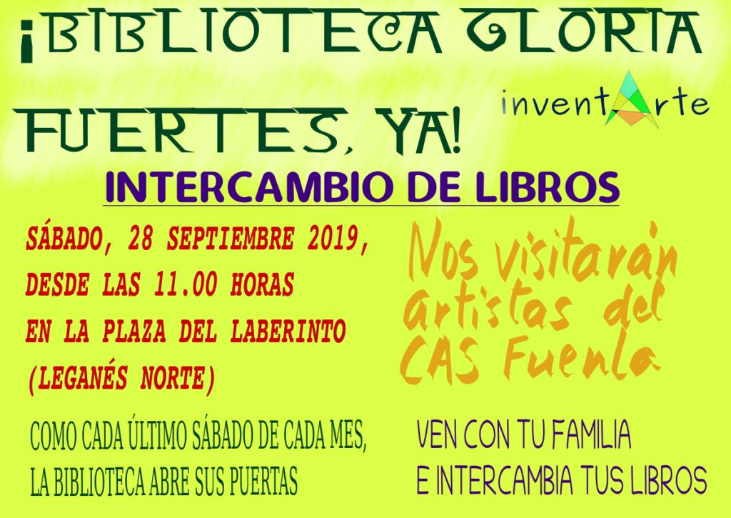 Intercambio de Libros de septiembre por Inventarte
