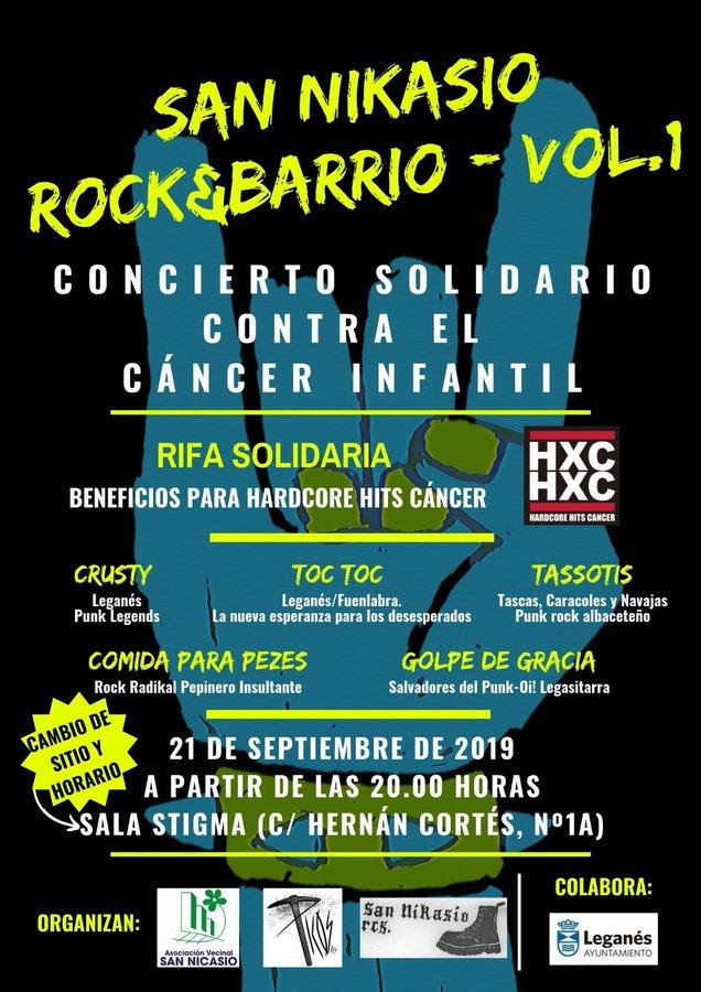 SAN NIKASIO ROCK&BARRIO Vol.I