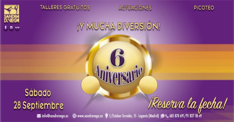 VI Aniversario - Academia Sandra D. Vega