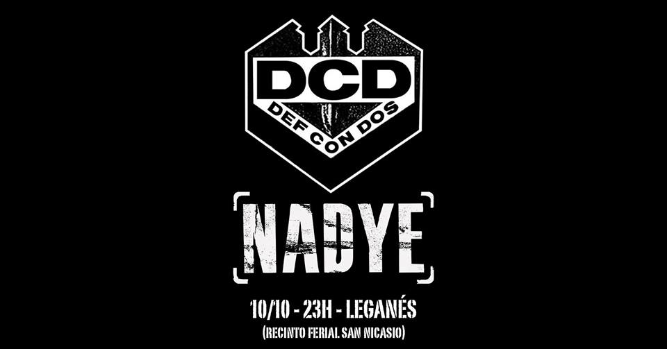 Def Con Dos - Zombi Franco Def-Con-Dos-y-Nadye-en-Legan%C3%A9s-San-Nicasio-2019