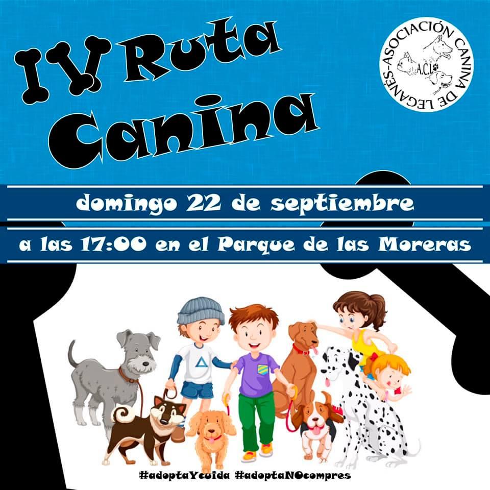 IV RUTA CANINA DE LEGANÉS