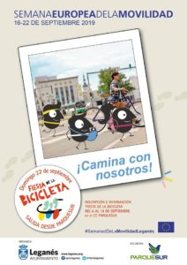 La Semana Europea de la Movilidad en Leganés