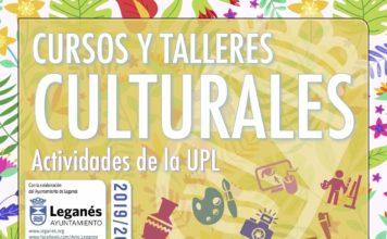 Cursos y talleres culturales 2019. Y actividades de la UPL