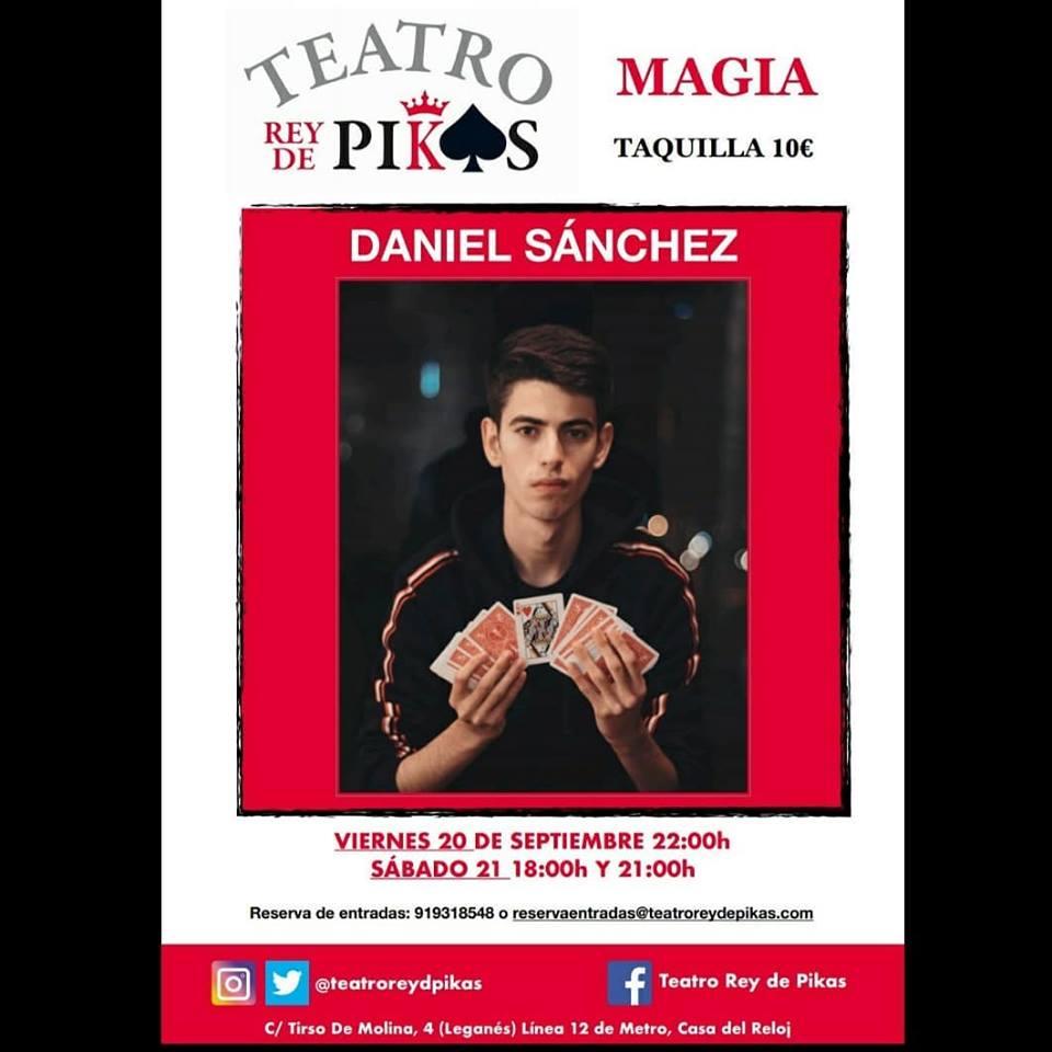 Show de Cartomagia y mentalismo con Daniel Sanchez