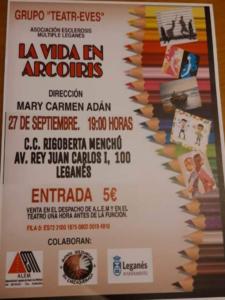 """Teatro """"La vida en arcoiris"""""""