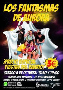 Teatro de Tepahi vuelve con Los Fantasmas de Aurora