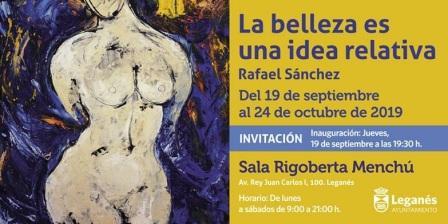 """Exposición de pintura """"La belleza es una idea relativa"""""""