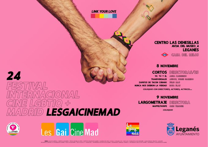 24 LesGaiCinemad Festival Internacional de Cine en Leganés