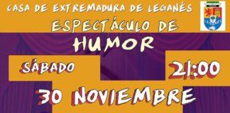 Comedia en la Casa de Extremadura de Leganés