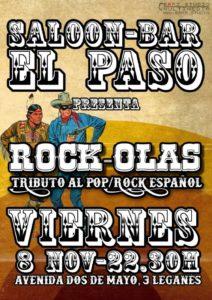 Concierto tributo al Pop/Rock Español con Rock Olas