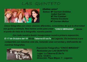 Exposición fotográfica en el Sie7e las Quinteto
