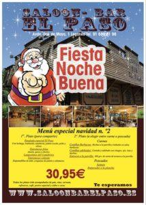 Fiesta de Noche Buena 2019 en el Paso