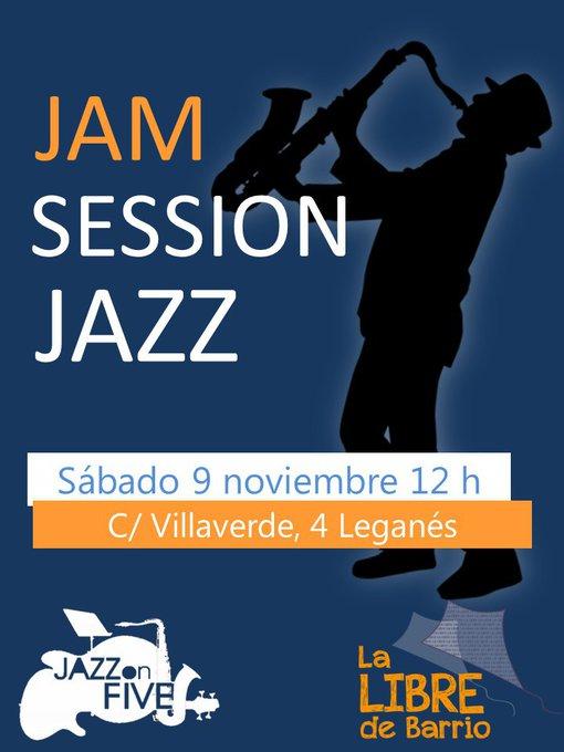 Jam Sesion Jazz en la Libre con Jazz on Five