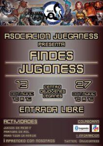 JuegaNess Findes Jugones octubre