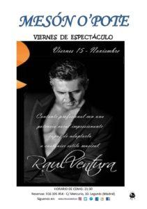 Raul Ventura en el Meson O'Pote