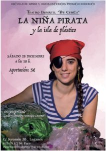Teatro infantil La niña pirata y la isla de plástico