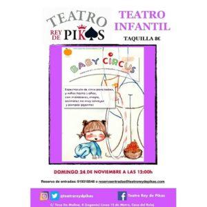 Teatro infantil en Rey de Pikas