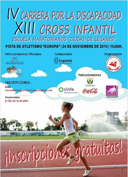XIII Cross Infantil Ciudad de Leganés
