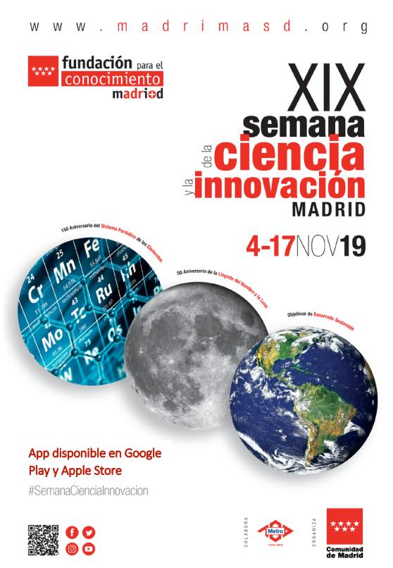 XIX Semana de la Ciencia y la Innovación en Leganés