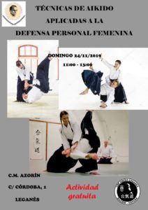 Aikido defensa personal femenina