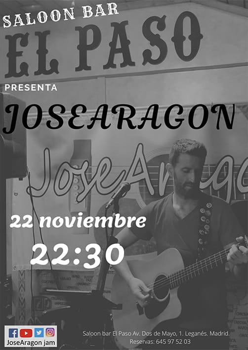 Concierto de José Aragón en el Paso