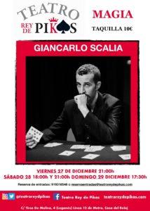Magia con Giancarlo Scalia en el Teatro Rey de Pikas