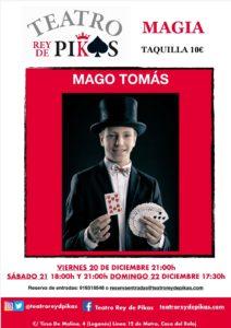Magia con Mago Tomás en el Rey de Pikas