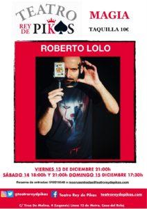 Magia con Roberto Lolo en el Rey de Pikas