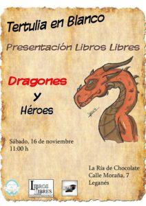 Presentación de libros libres