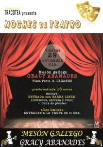 "Teatro ""Mi vecina se va de pesca"" de Alfonso Teba"