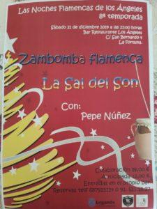 Concierto zambomba flamenca en los Ángeles