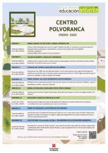 CEA Polvoranca en enero 2020 y en Bosque Sur