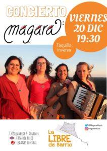 Concierto de Magara en La Libre de Barrio