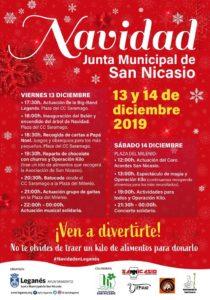 FIESTAS DE NAVIDAD 2019 EN SAN NICASIO