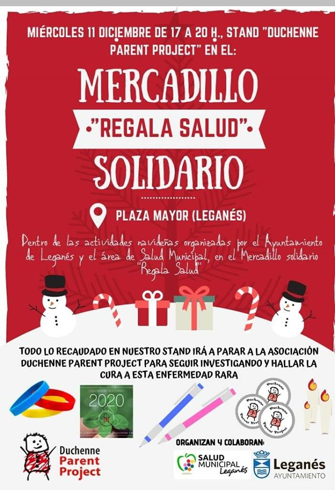 Mercadillo Solidario en la plaza mayor