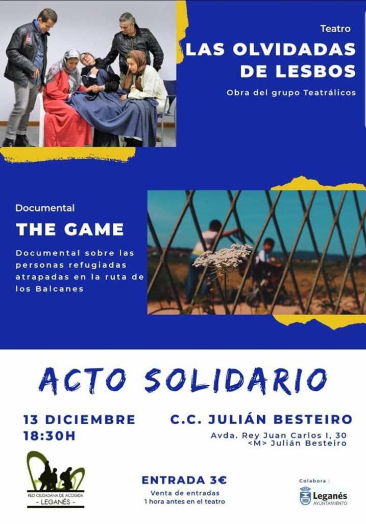 Teatro y cine acto solidario en el Besteiro