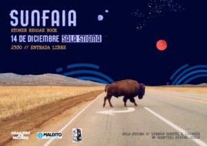 Concierto de Sunfaia en la Sala Stigma
