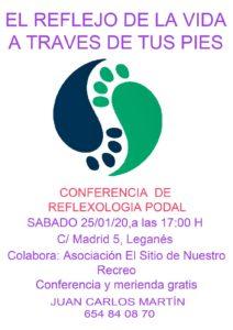 Conferencia de reflexología podal