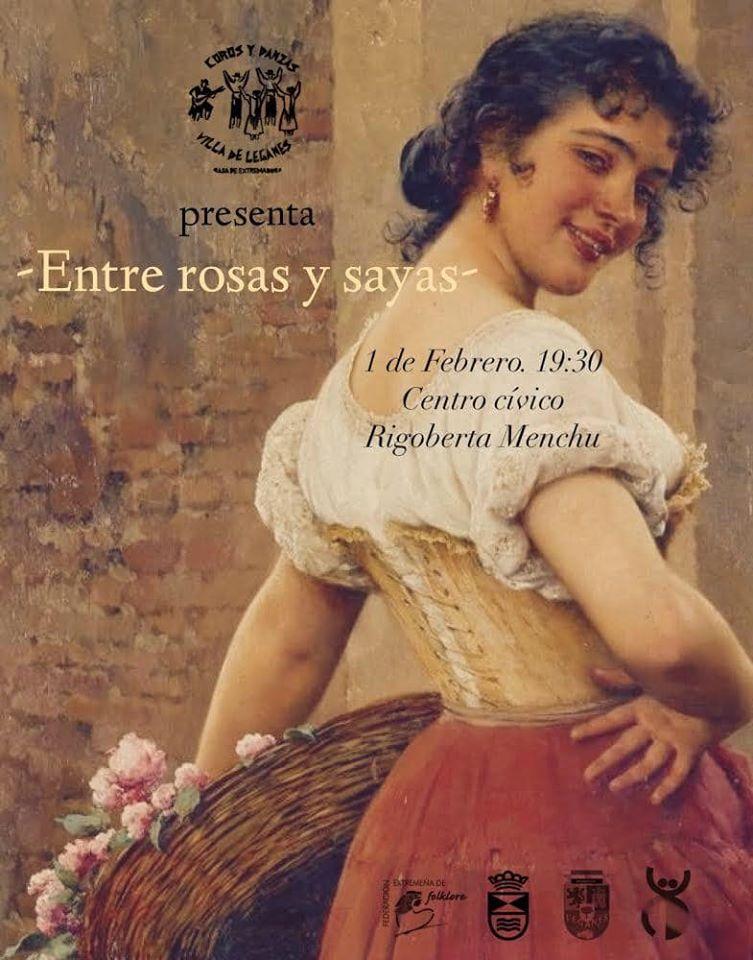 """Coros y Dazas """"Entre rosas y sayas"""""""