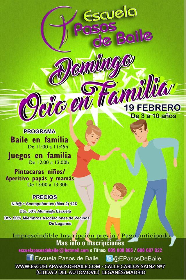Domingo de Ocio en Familia Bailamos en familia
